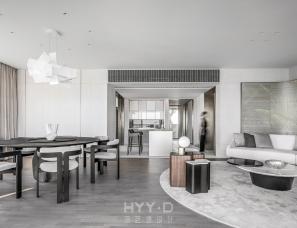 鸿艺源设计--515㎡大平层私宅,美学体验与生活温度无间交融
