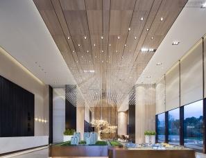 李益中空间设计--福州香开长龙售楼处