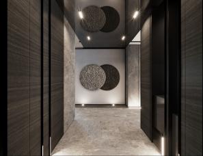 惹雅设计--黄铜实验 台北335m²住宅