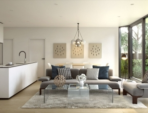 BKK Architects设计--墨尔本郊外的公寓