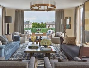 Helen Green设计--penthouse north knithtsbridge