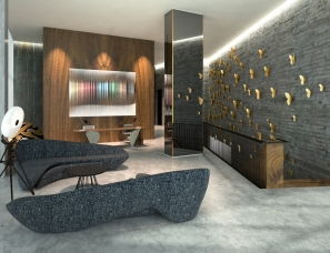CONRAN+PARTNERS设计--The House Hotel and Residence Bomonti