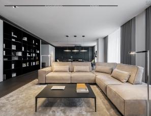 【首发】YODEZEEN Architects--APARTMENT FOR TWO IN KIEV