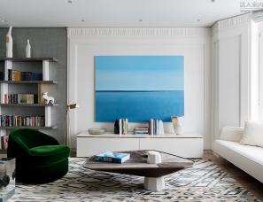 Ekaterina Fedorchenko 设计--蓝色大海