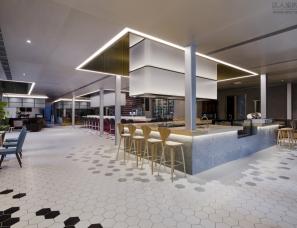 上海问和答建筑设计--武汉萨丁伯格餐厅