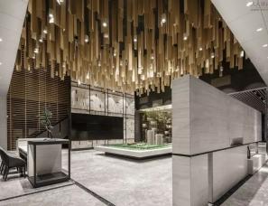 朴悦设计 --武汉万科金域学府营销中心