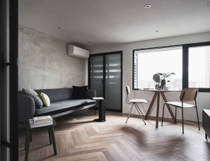 A Little Design--台北微型家庭公寓55㎡
