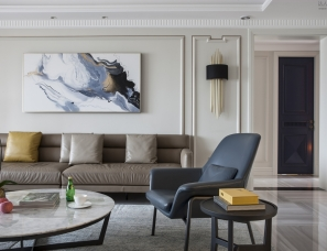 品川设计--美式大宅竟也能满溢意大利风情!