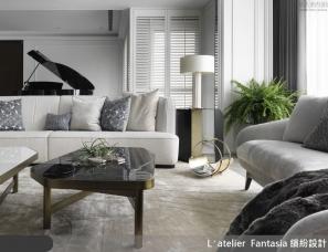 缤纷设计江欣宜新作--钢琴演奏、红酒香、气质系新古典大宅