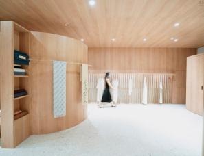 """帕姆建筑--""""往夕""""服装工作室"""