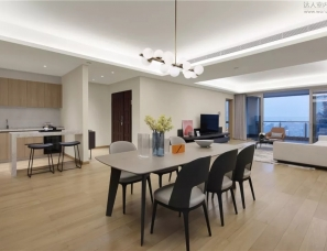 沃屋陈设设计--深圳水湾1979平层公寓