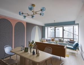 法纳兴室内设计--金外滩花园顶层公寓