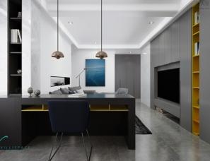巫小伟丨苏州鑫苑国际130平公寓--现代风格
