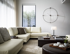首发 | 戴勇设计--深圳498m²私人住宅-简约之家
