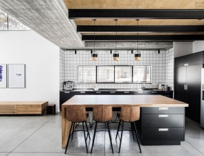 Zarta Studio--Monochromatic House