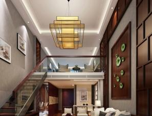 【威利斯设计】南通五星级宾馆套房设计方案之二--现代中式