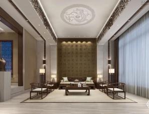 一心中式设计丨客厅篇