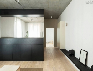 Thisispaper设计--A – Place is located in Warsaw, Poland a tiny space
