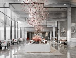 上海禾悉设计--金地杭州都会风华售楼处