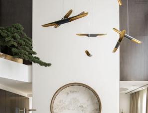 孟也设计--东方留白|北京私人别墅1500平方米