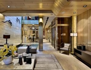 凌子达设计--杭州西湖金地十方别墅样板房