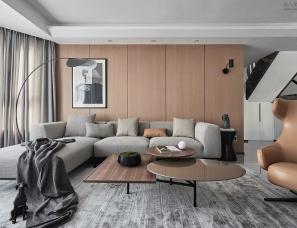 拓者空间设计--290㎡现代台式住宅