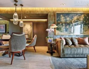SCD(香港)郑树芬设计--香港艺术家的半山海景豪宅