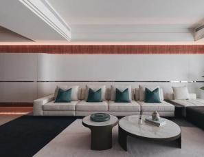 台湾森博设计Blanc Concept--金伶艺所198m²