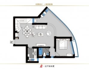 杭州名震设计·唔同软装 ︱【雾里看花】