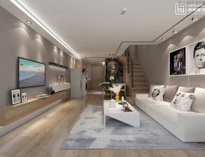 【和邦装饰】高端别墅设计-绿地样板房设计