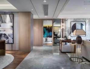 杭州易和室内设计--金地西溪风华洋房样板房