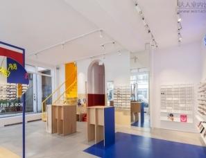 Spacon & X空间设计--哥本哈根时尚眼镜店