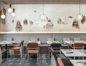 New Practice Studio--Atlas Kitchen美国曼哈顿中餐厅