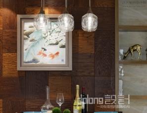 董龙设计现代风格实景《光影拿铁》