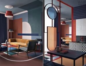 梦幻般的色彩构成征服了设计界,众多设计大师为她点赞