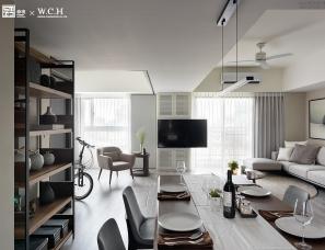 台湾王俊宏设计--纯净雅居