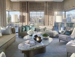 傅厚民设计--伯克利酒店 月牙亭套房