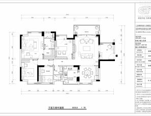 昊然设计--东城格兰名筑6栋301/145平方住宅