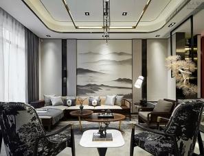 上海筑语装饰设计--合肥中海央墅样板房