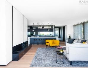 SJB Interiors--Melbourne Penthouse