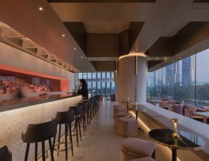万社设计--Wann lounge 艺术空间酒吧