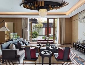 广州杜文彪装饰设计--观承别墅南户