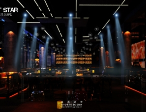 【酒吧设计】深圳福田皇冠SKY酒吧
