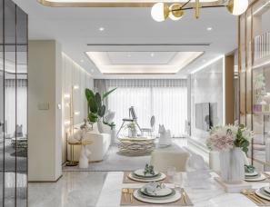 冯未墨设计--福星惠誉宁波山语江院样板房120 户型