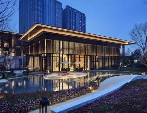集艾设计--成都龙湖西宸原著售楼中心