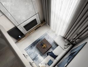 昊然设计--海逸豪庭尚都208户型,241㎡复式