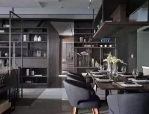 台北天坊室内张清平设计--天厦实品屋