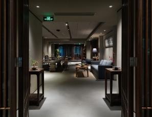 深圳胡中维室内建筑设计--招商美伦会所
