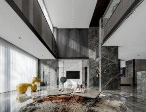 山石空间设计--Bologna·高级灰再定义轻奢时尚