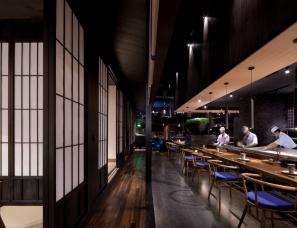 深圳李益中空间设计--重庆秋叶日本料理南滨路店